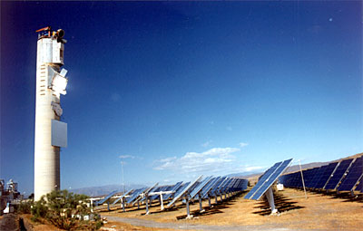 solar energy station Tabernas