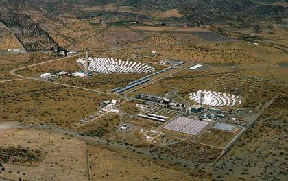 plant d'énergie solaire Tabernas